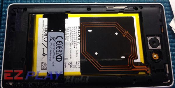 華麗變身,黑機變白機,SonyXperia Z2a 面板更換實錄11