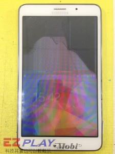 無法顯示的Samsung Galaxy Tab4 液晶面板更換維修記1