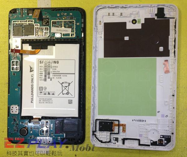 無法顯示的Samsung Galaxy Tab4 液晶面板更換維修記3