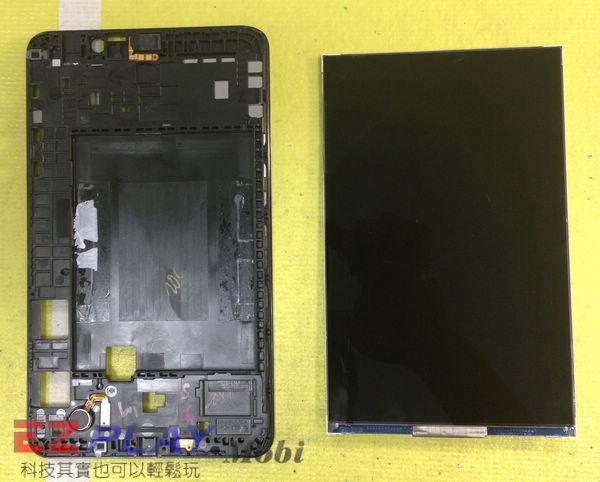 無法顯示的Samsung Galaxy Tab4 液晶面板更換維修記9