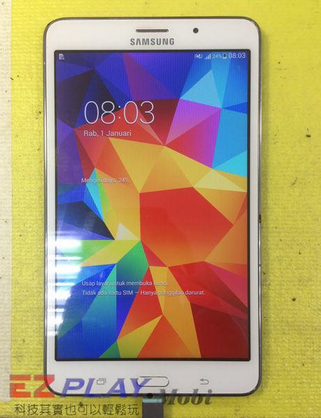 無法顯示的Samsung Galaxy Tab4 液晶面板更換維修記13