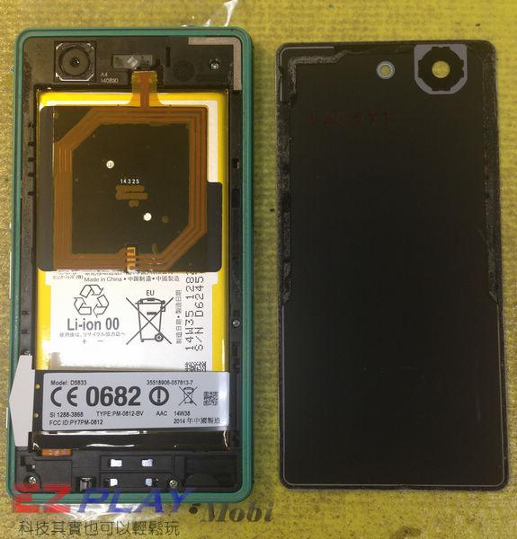 摔機 Sony Xperia Z3 Compact 面板更換實錄.3