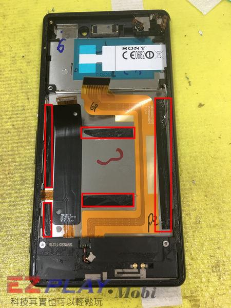 Sony Xperia M4 Aqua 摔機顏面傷殘大變身.8