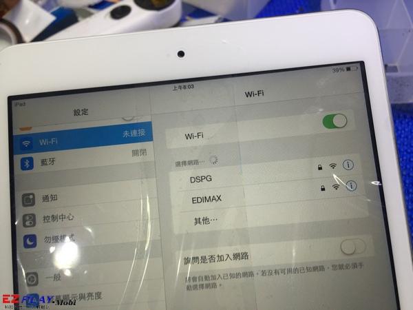 ipad的wi-fi打不開9