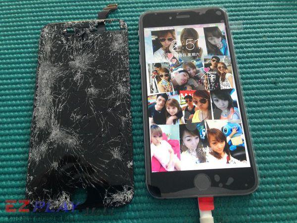iphone6螢幕摔8
