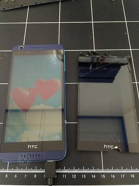 HTC 626 面板即刻救援