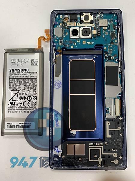三星NOTE 9 手機維修_面板更換_電池更換03.jpg