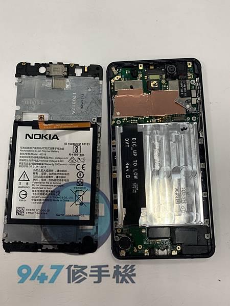 Nokia 8.1 手機維修_電池更換_尾插更換03.jpg