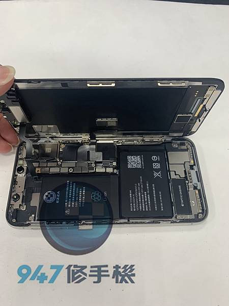 IPHONE X 手機維修_電池更換_尾插模組更換04.jpg