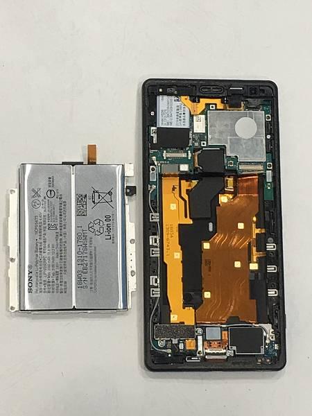 SONY XZ2手機維修_充電孔維修05.JPG