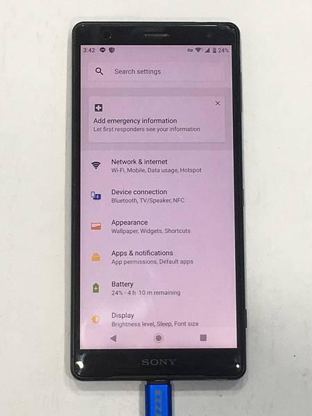 SONY XZ2手機維修_充電孔維修01.JPG