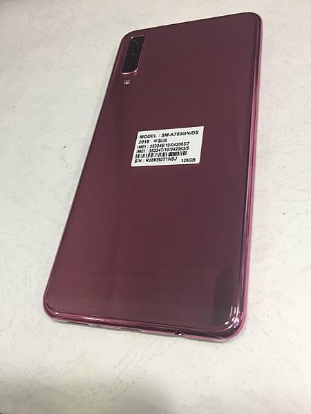 三星A7 2018手機維修_更換面板02.JPG