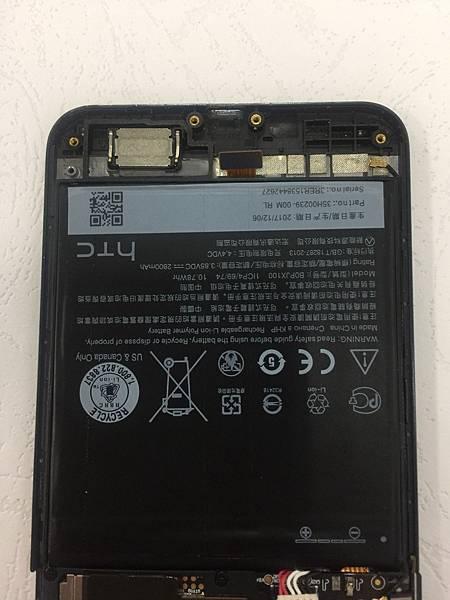 HTC E9手機維修_更換尾插03.jpg