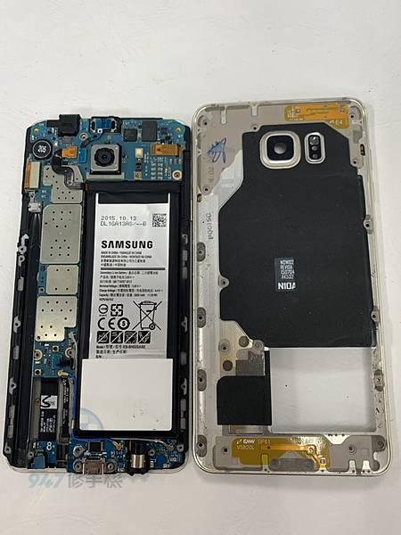 三星NOTE 5 手機維修_面板更換維修_尾插模組更換02.jpg
