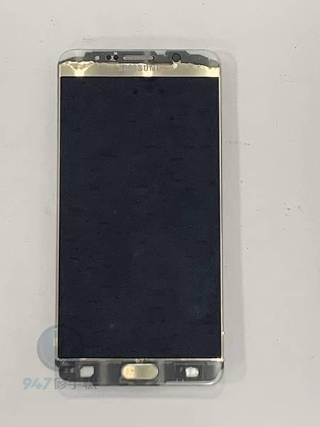 三星NOTE 5 手機維修_面板更換維修_尾插模組更換01.jpg