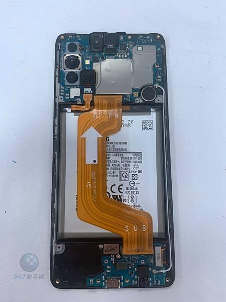 三星A71 手機維修_尾插模組更換_電池維修03.jpg