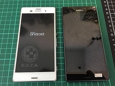 Z3 更換面板3