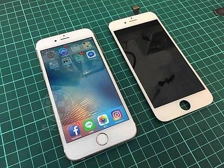 iphone6 螢幕都黑的
