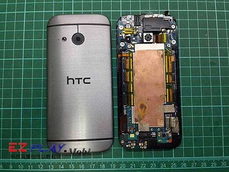 HTC One mini 2 (M8 mini) 手機泡水無畫面也不開機