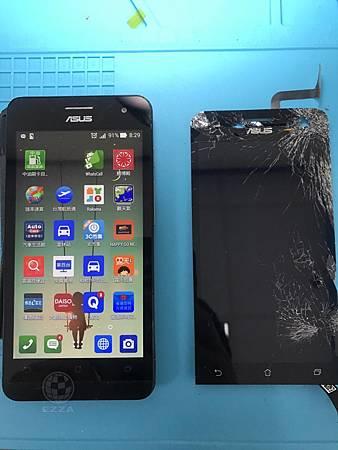ZenFone 5頭頂破了洞