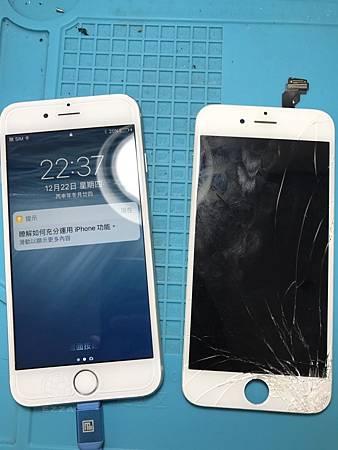 IPHON6 面板爆裂