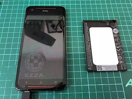 HTC 蝴蝶S更換電池