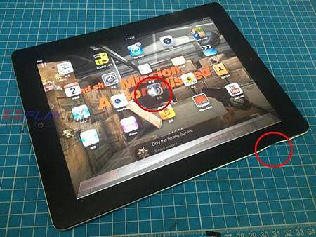 Apple iPad 邊框變形