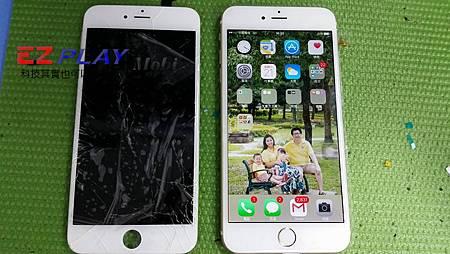 iPhone 6 plus 大螢幕不小心就摔破了