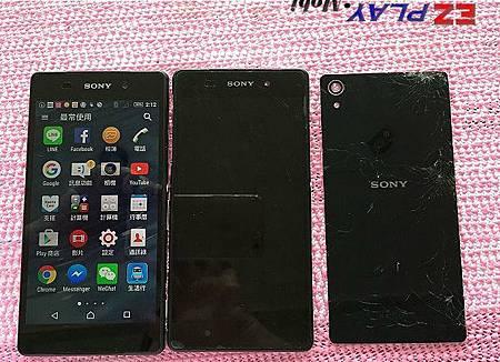 Sony Z2摔機全身破