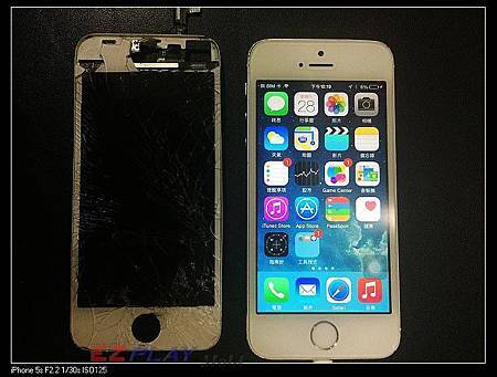 iphone 5S從最高處落下!!!