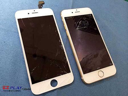 iPhone 6螢幕破裂