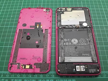 HTC Desire816 掉進水桶洗澡囉
