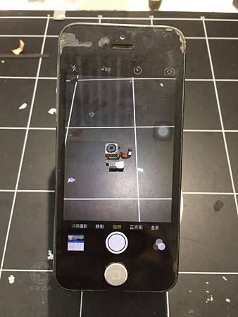 IPHONE 5後相機打不開!!!