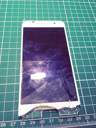 HTC A9破裂的面容