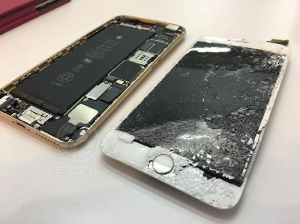 iphone6+ 自摔的下場