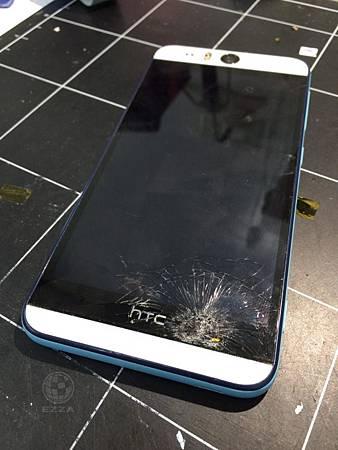 HTC EYE面板重擊不顯