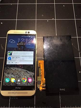 HTC M9 液晶顯示異常