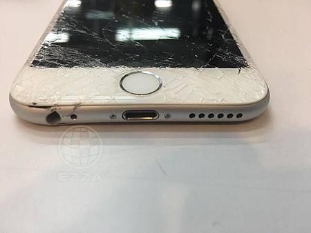 iphone6這一摔太慘了吧