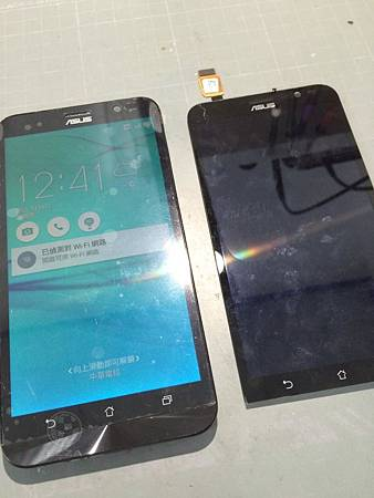 ZenFone GO TV液晶破裂沒畫面