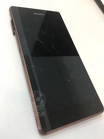 Sony Z3 面板破裂觸控也掛了