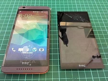 HTC 626換完面板還是很好用