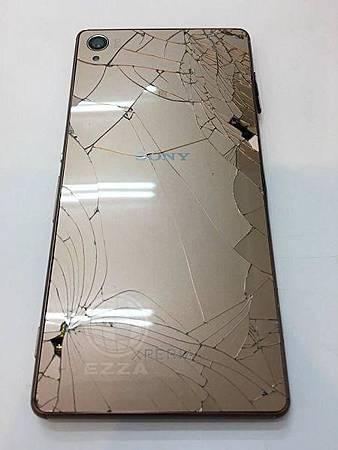 Sony Z3玻璃背蓋破了