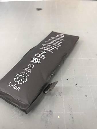 IPHONE 5S沒有注意電池