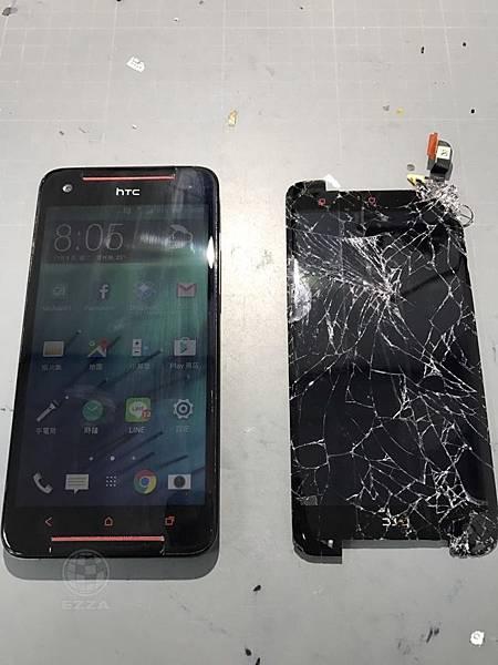 HTC 蝴蝶S超慘面板