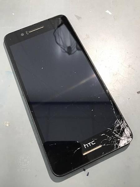 HTC 728重摔在地