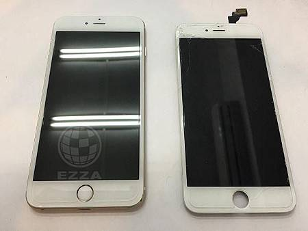iphone6+撞到邊角就破了