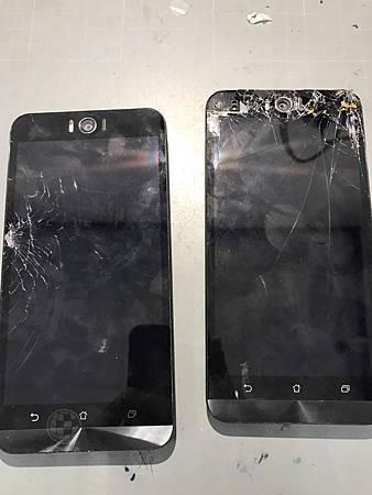 Zenfone Selfie雙雙破裂
