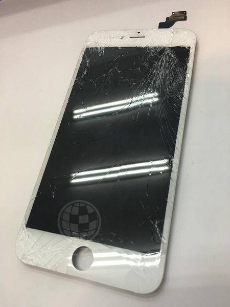 IPHONE6+玻璃破裂