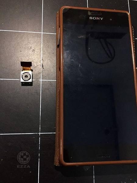 SONY Z3相機進水