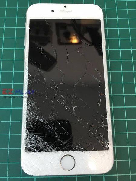 iphone6s 用沒多久就摔破了